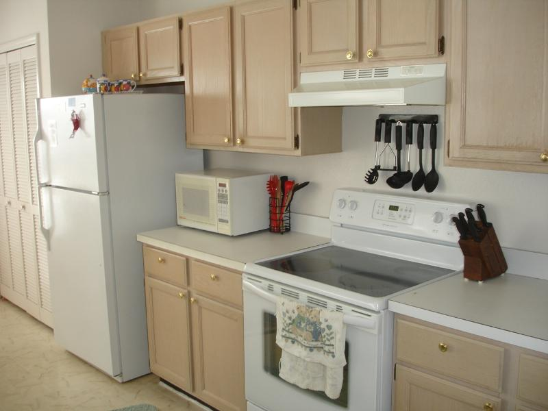 Fully equipped kitchen at Pluto's Pad