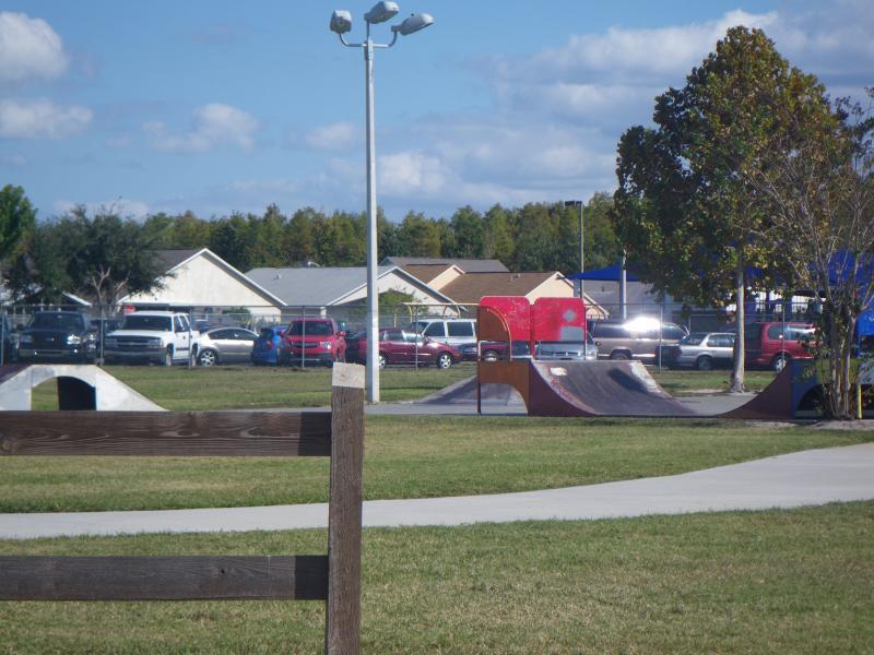 Lakeside Estate Community Park, skate ramp
