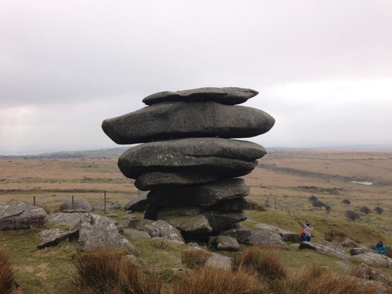The chesswring at Minions on Bodmin Moor is but 4 miles from Thyme Cottage.