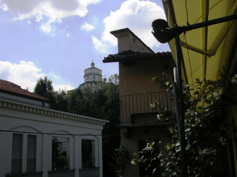A view from the balcony of the Cappuccini's historical hill chapel which hosts a topfive restau