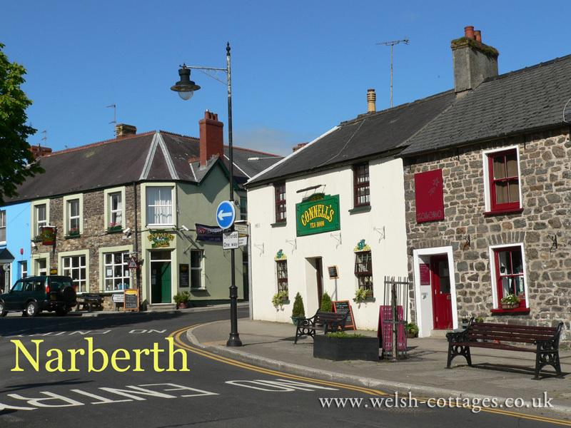 Narberth. A quirky liile town full of individual shops