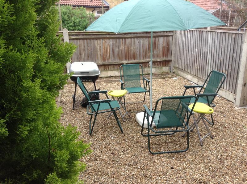 Barbecue setting