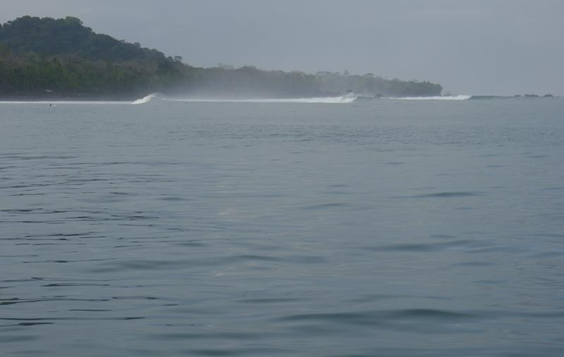 World-class Pavones surf break is a short boat ride away, across the Golfo Dulce from Cabinas Ola Ma