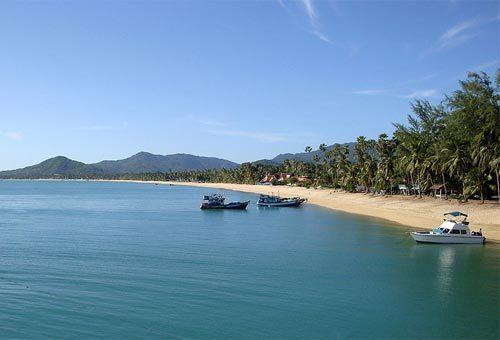 Spendido mare di Kho Larn Pattaya
