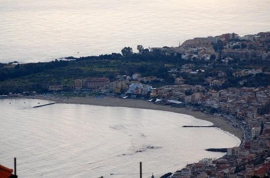 the beach Giardini Naxox