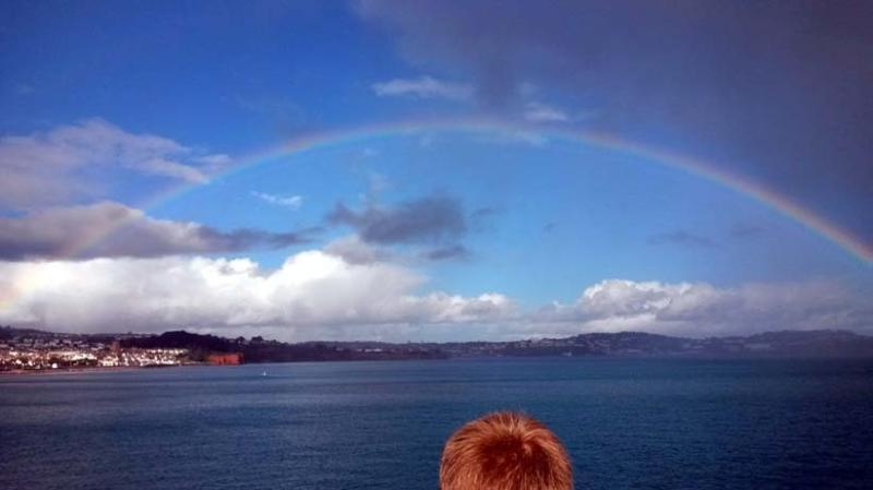 Rainbow over Torbay