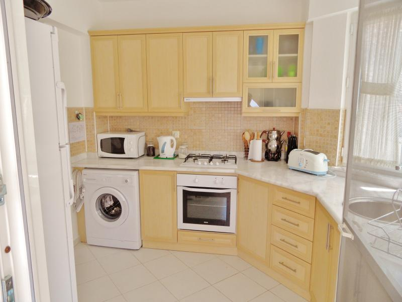 Kitchen with access to ground floor dining