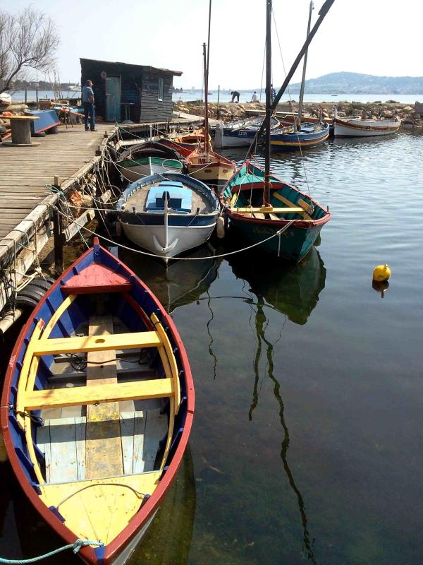 Bouzigues : a nice place for sea foods