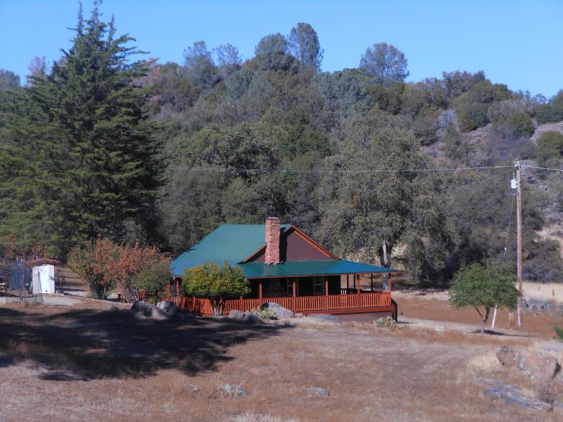 Side view of 5 acre lot
