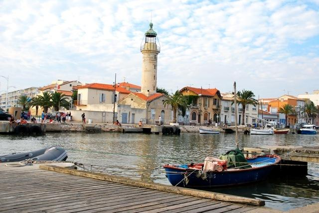 Sea side town nearby Montpellier