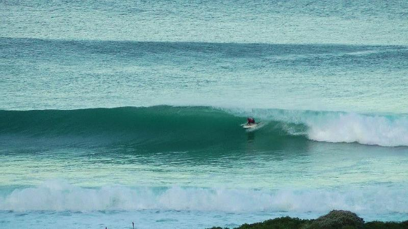 Vista de th Surf desde la cubierta