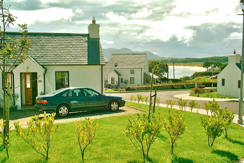Our House with Ballymastocker Beach behind