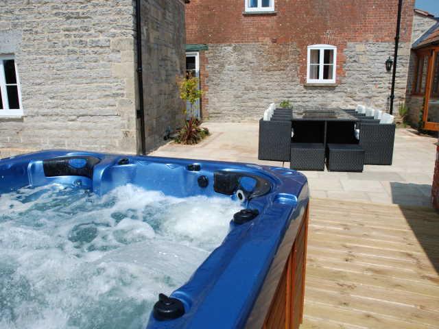Private Hot Tub at the Farmhouse