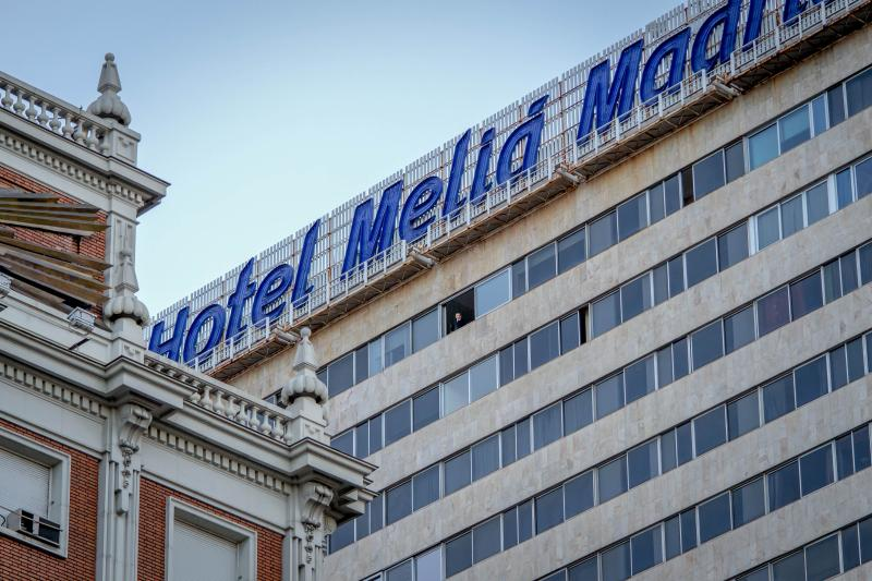 Penthouse Apartment, on the 20th floor of the Meliá Princesa Building in the center of Madrid