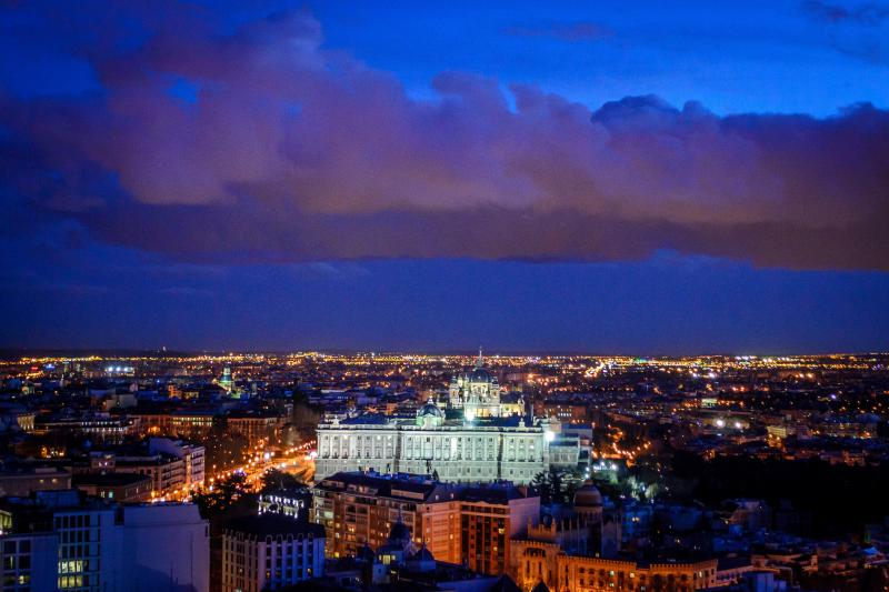 YOU DESERVE THIS! Stunning view over the historical heart of Madrid, to greet you day and night!
