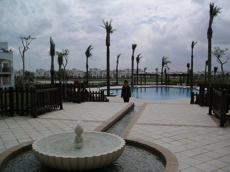 Paseando por el resort