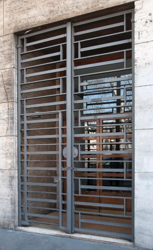 The external door