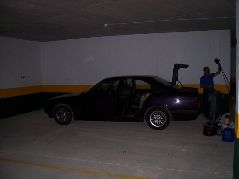 Llegada al parking