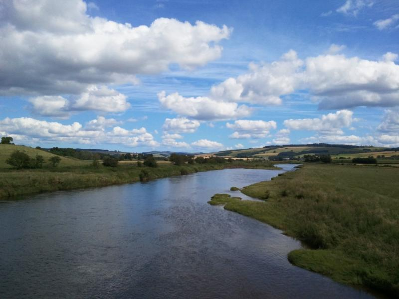 Walk to Kelso along the River Teviot