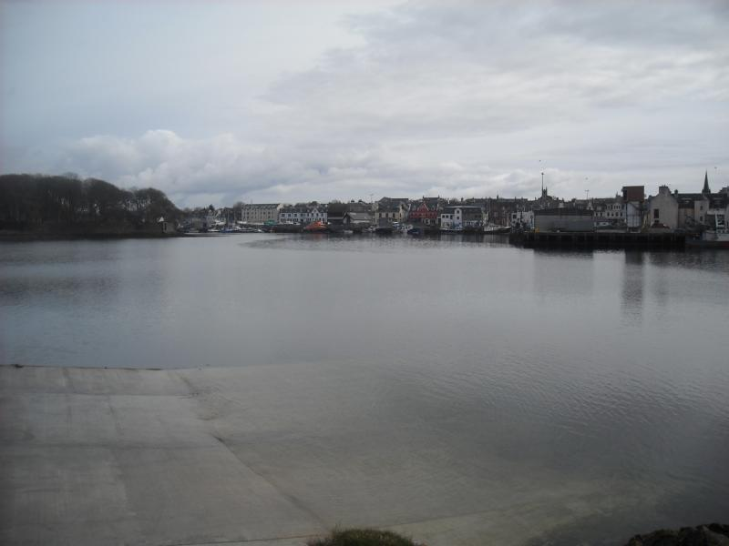 Stornoway Harbour - boat day trips and fishing trips during summer season. This is only 30 min walk.