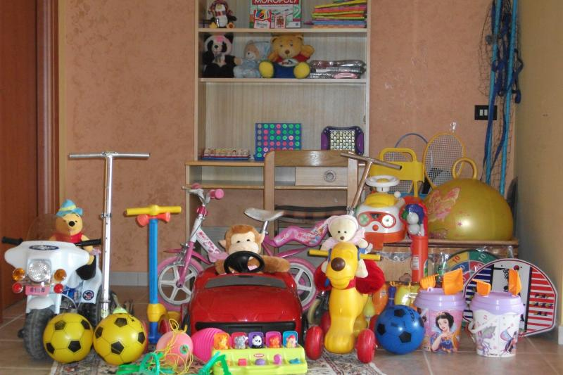 Children will be well entertained throughout the whole vacation with all these toys to play with...!