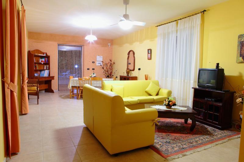 Ground floor living room with tv,sky programming, full library, cd & dvd
