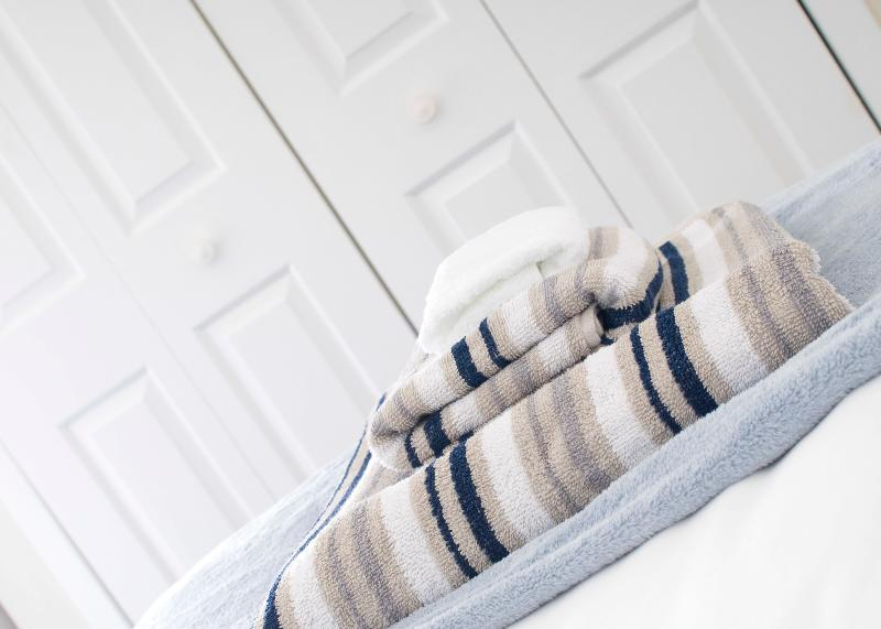 Quality towels and linen provided