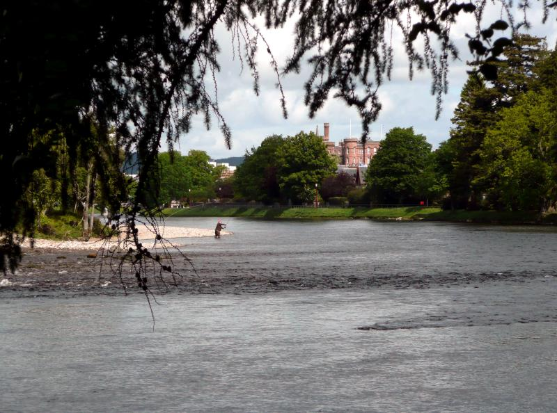 Fishing on River Ness