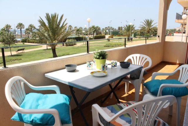 FRONTAL EN PRIMERA LINEA PLAYA, holiday rental in Almerimar