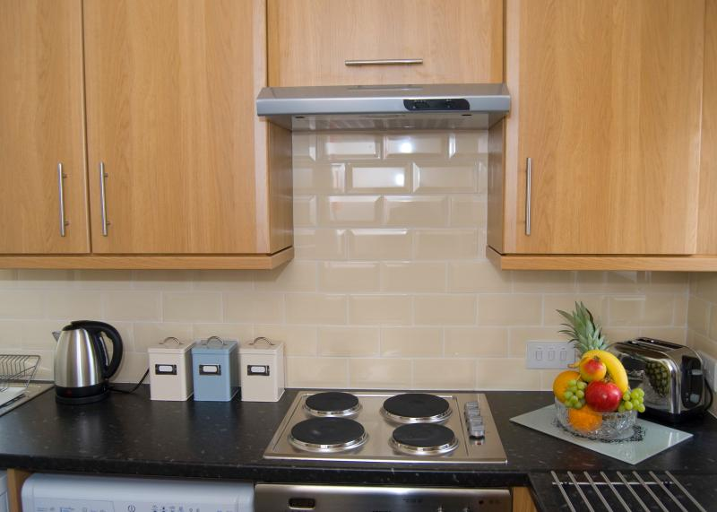 Bright kitchen, fully equipped for your holiday