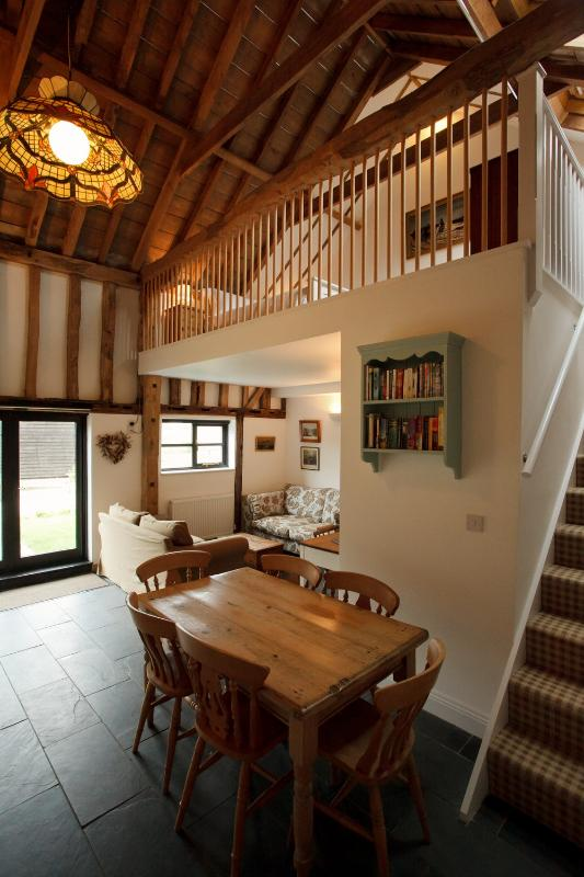 Swift Barn Kitchen and Living Area