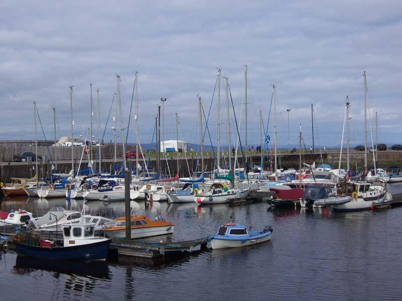 Nairn harbour.