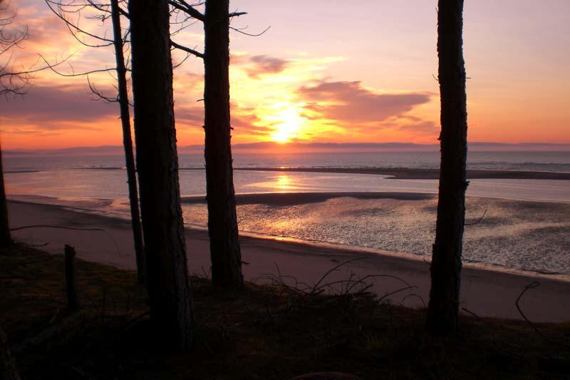 Culbin beach.