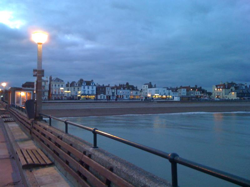 Deal pier at night