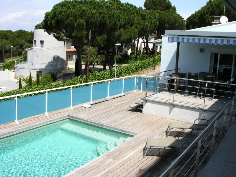 Villa Didier pool terrace