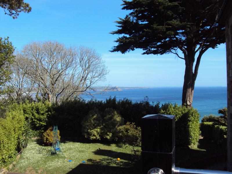 Seaviews to Mounts Bay & St Michael's Mount from Bedroom 1