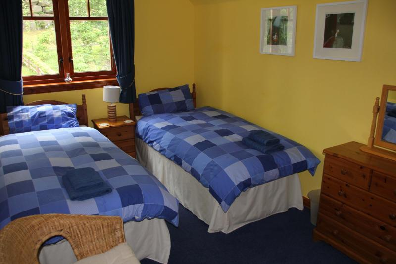 Chambre à deux lits avec TV et DVD