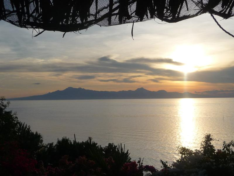 Sunset from veranda