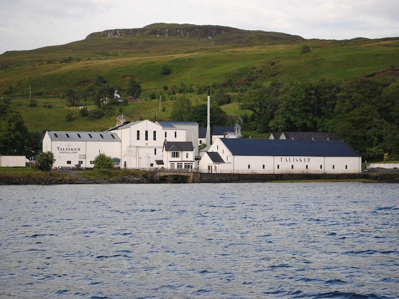 Talisker distillery,  home of the famous malt. Just a 20 minute drive from Katie's