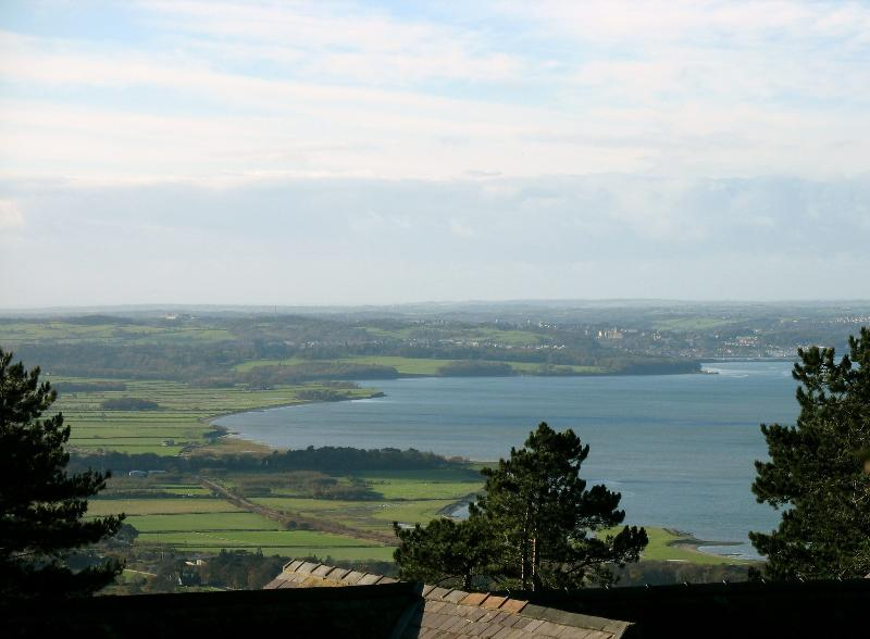 Menai Straits from Conwy cottage plas heulog