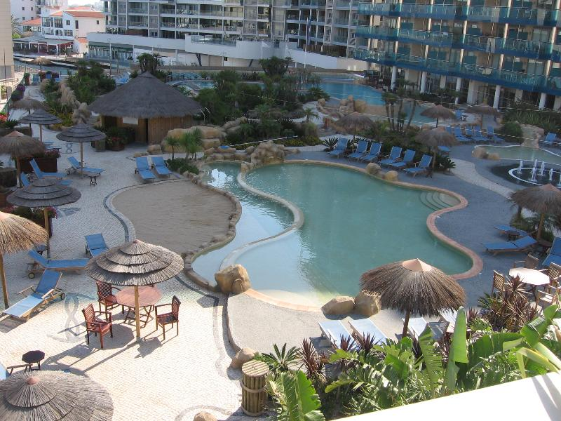Pool Complex with heated lap pool/leisure pool , jacuzzi and childrens pools