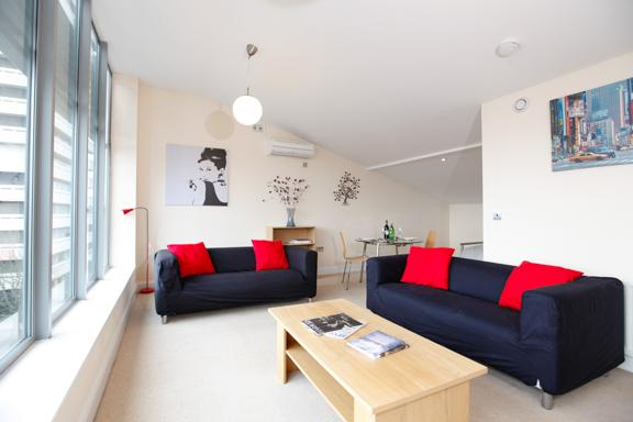 Modern contemporary lounge