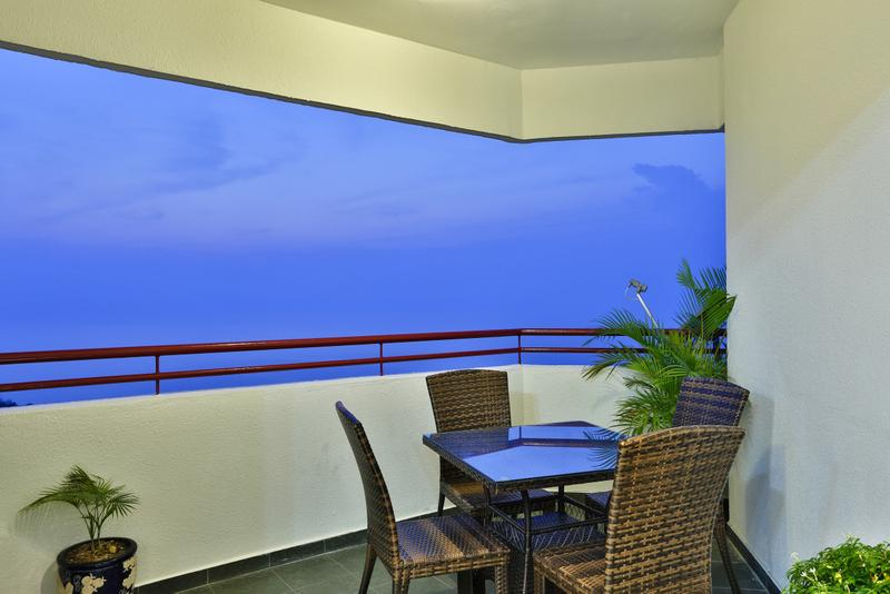 Stunning sea views from your private balcony