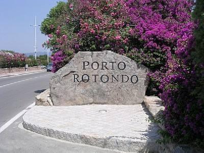 Port Rotondo, renowned tourist destination in the world, beautiful sea, beaches and clean water