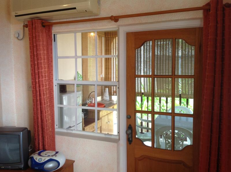 Entrance to Balcony Kitchenette