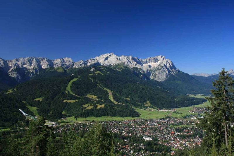 Garmisch-Partenkirchen summertime