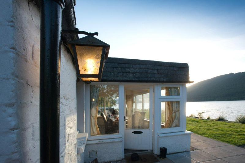 Step from your door to Loch Tay
