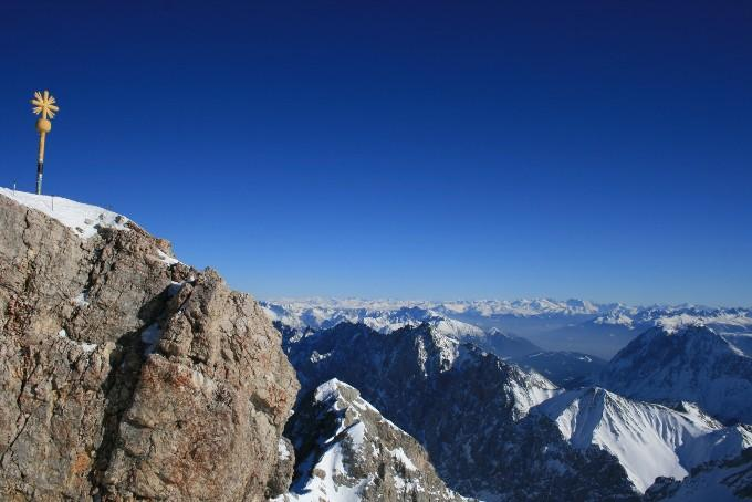 Zugspitze, Germany´s highest mountain