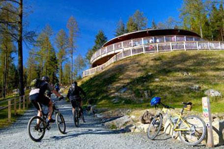 Sólo 4 millas del centro de ciclismo Coed y Brenin