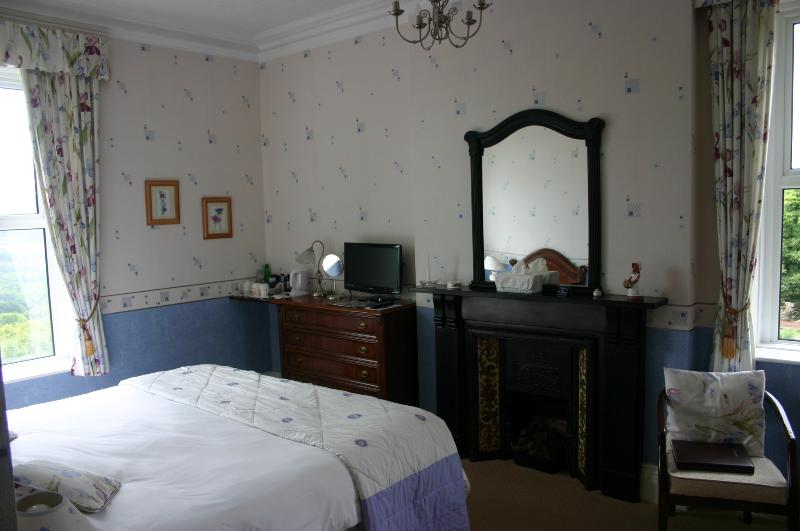 Room 2 South facing Superking En-suite. Stunning views over the Derwent Valley